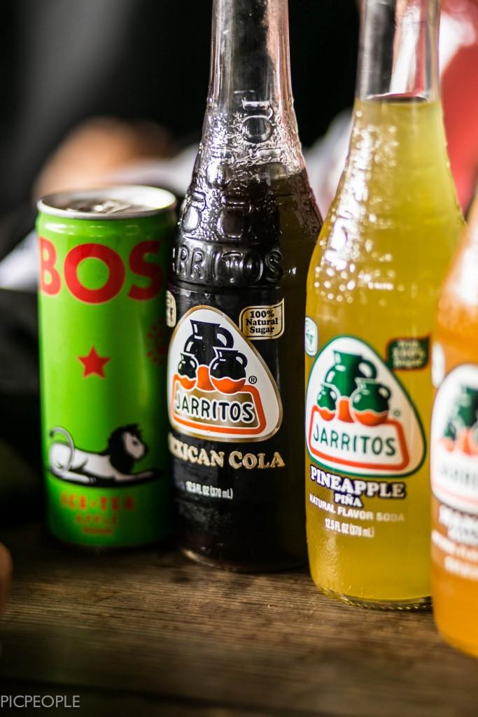 Mexikansk läsk. Med 100 % sugar.
