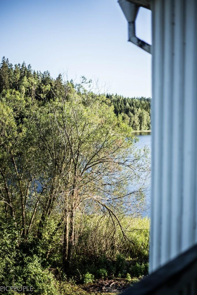 Utsikt från en av balkongerna.