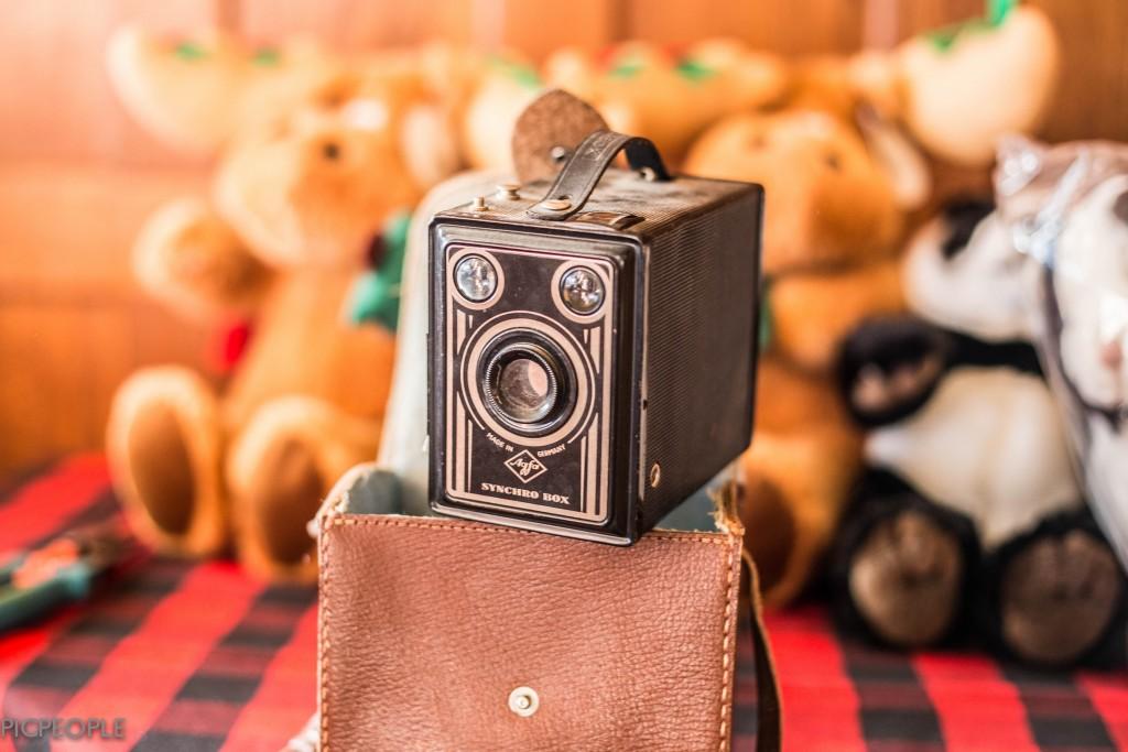 Och så en kamera. Dog en gång till.