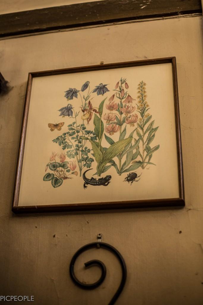 Huuuur mycket fantastiska tavlor som helst hängde på väggarna.