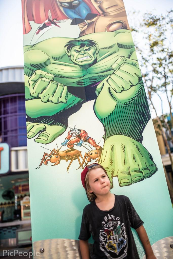 Abbe och the Hulk.