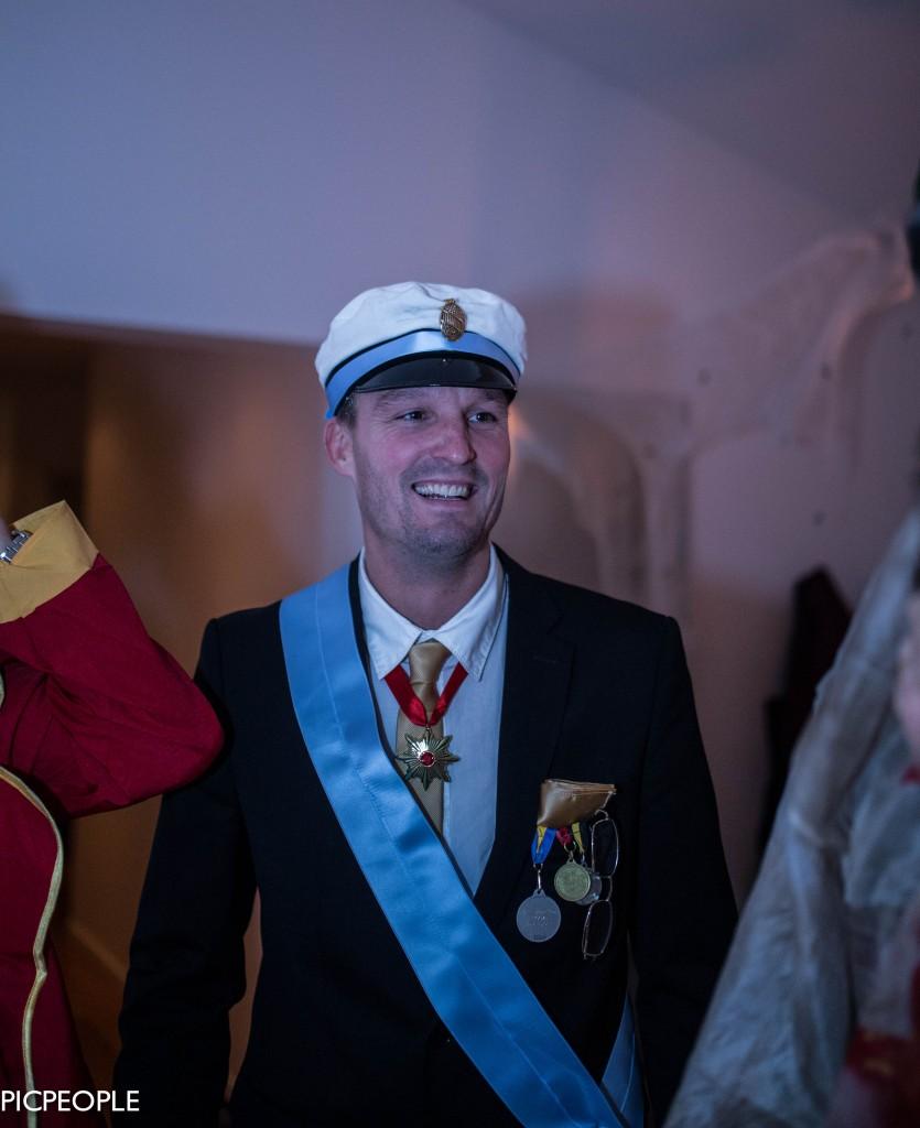 T o m Hans Majestät Konungen hedrade oss med sin närvaro.