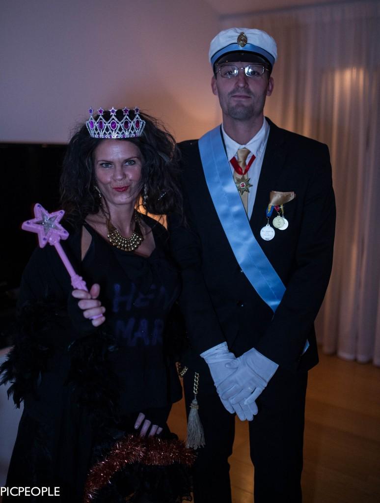 Konungen och hans musa La Camilla.