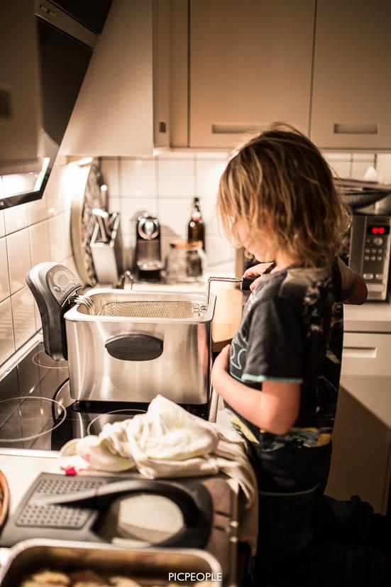 Bra att ha barn med vid användning av 190 gradig olja.