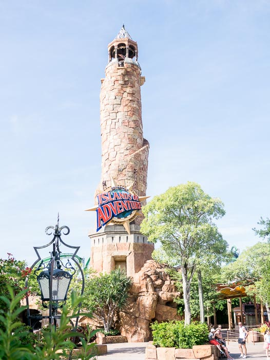 Dag två - Islands of Adventure.
