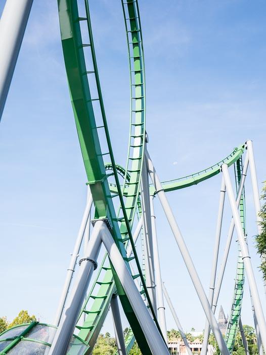 The Hulk. Den åkte jag faktiskt, med livet som insats. Helt galen.